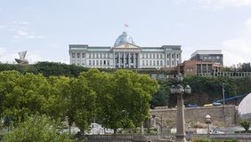The Official residence of Georgian President stock image