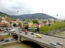 Tbilisi, Georgia, City view Stock Photos