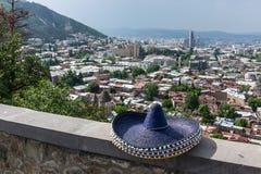 Sombrero Tbilisi Georgia Eastern Europe Royalty Free Stock Photos