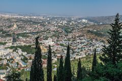 Tbilisi Georgia Eastern Europe Stock Images