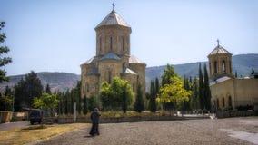 Tbilisi Georgia. Gruzia Church Priest Orthodox royalty free stock photos