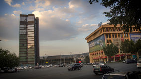 Tbilisi Georgia. Gruzia Rustaveli ave stock photography