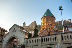 Tbilisi, Georgia - July 18, 2015. View of XIII century St George Stock Image