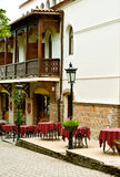 TBILISI, GEORGIA. Old town of Tbilisi. Royalty Free Stock Photo