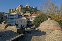 Tbilisi gränsmärken Royaltyfria Foton