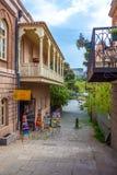 13 04 2018 Tbilisi, Gruzja - architektura stary Tbilisi, Exter Zdjęcia Royalty Free