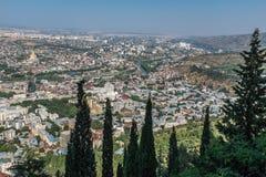 Tbilisi Gruzja Europa Wschodnia Obrazy Stock