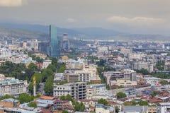 TBILISI GRUZJA, MAJ, - 07, 2016: Architektura Tbilisi, Georgi Fotografia Stock