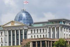 TBILISI GRUZJA, MAJ, - 07: Główny biuro prezydent przy s Obraz Stock