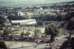 TBILISI GRUZJA, MAJ, - 07, 2016: Teatr muzyka i dramat, Exh Zdjęcia Stock