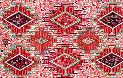 TBILISI, GRUZJA, MARZEC 2017: - Kolorowy dywan Z z beauti Zdjęcie Stock