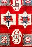 TBILISI, GRUZJA, MARZEC 2017: - Kolorowy dywan Z z beauti Fotografia Stock