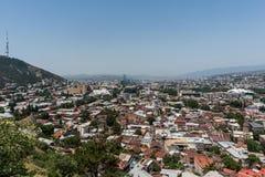 Tbilisi Gruzja turystyki piękny Stary Grodzki zwiedzać zdjęcia royalty free
