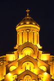 The Tbilisi Holy Trinity Cathedral Stock Photography