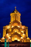 Tbilisi Holy Trinity Cathedral, Trinity or Sameba Royalty Free Stock Photography