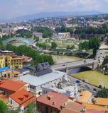 Tbilisi-huvud av Georgia Arkivbilder