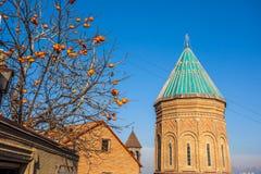 Tbilisi, la Géorgie - 18 juillet 2015 Vue XIII de siècle St George Photographie stock