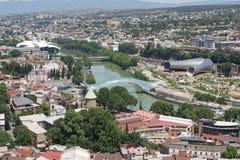 Tbilisi, la Géorgie, l'Europe Image libre de droits