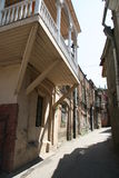 Tbilisi at midday. Street in an old part of a city at midday Stock Photography