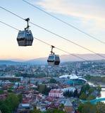 Tbilisi modern funicular, Georgia Royalty Free Stock Photo