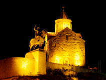 Tbilisi monuments Royalty Free Stock Images