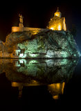Tbilisi by night Royalty Free Stock Photography