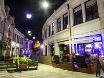 Tbilisi by night Royalty Free Stock Images