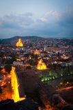 Tbilisi at night Stock Image