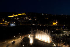 Tbilisi by night Stock Image