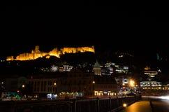 Tbilisi by night 3. Georgian capital city by night Stock Image