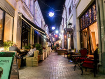Tbilisi by night Stock Photo
