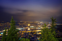 Tbilisi by night Royalty Free Stock Photo
