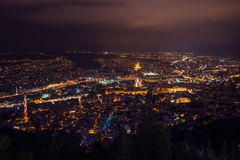 Tbilisi at night Royalty Free Stock Image