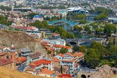 Tbilisi. Old city. Stock Images