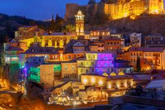Tbilisi. Old city. Royalty Free Stock Photography