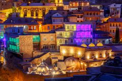 Tbilisi. Old city. Royalty Free Stock Image