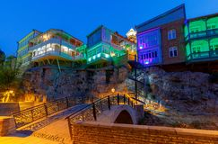 Tbilisi. Old city. Royalty Free Stock Photos