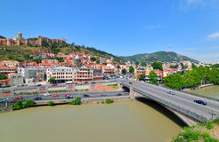 Tbilisi Old Town Royalty Free Stock Photography