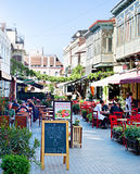 Tbilisi Old Town restaurants Stock Photography