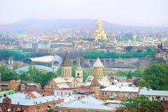 Tbilisi panorama Stock Photos