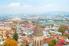 Tbilisi panorama Royalty Free Stock Images