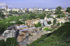 TBILISI PANORMIC VIEW Royalty Free Stock Photography