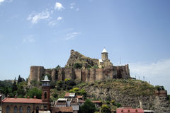 Tbilisi, Republiek Georgië Stock Foto's