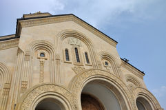 Tbilisi Sameba Cathedral Royalty Free Stock Image