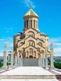 Tbilisi Sameba Cathedral, Georgia Stock Image