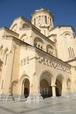 Tbilisi Sameba Cathedral Royalty Free Stock Photography