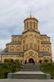 Tbilisi sameba cathedral Royalty Free Stock Photo