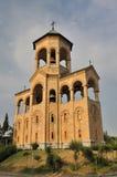 Tbilisi Sameba frei-stehender Glockekontrollturm Stockbilder