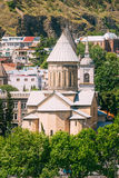 Tbilisi Sioni Cathedral, Georgia. Cathedral of Saint Mary of Zio Royalty Free Stock Images