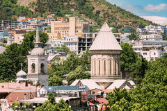 Tbilisi Sioni Cathedral, Georgia. Cathedral of Saint Mary of Zio Royalty Free Stock Image